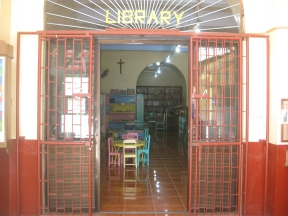 Front of Library